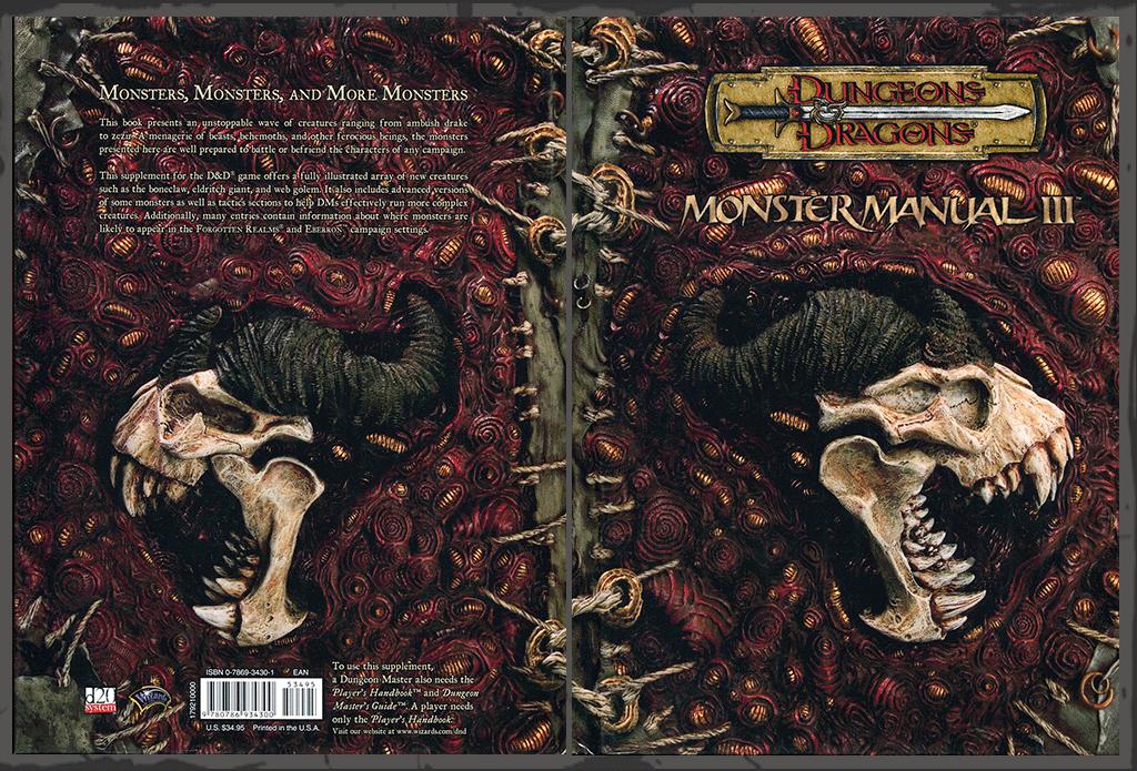 dungeons dragons covers and art by henry higginbotham rh hghigginbotham com monster manual 3e monster manual 3 4e