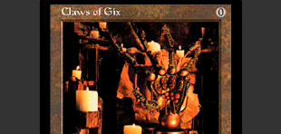 Claws of Gix Card